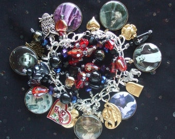 Vampire Passion Charm Bracelet