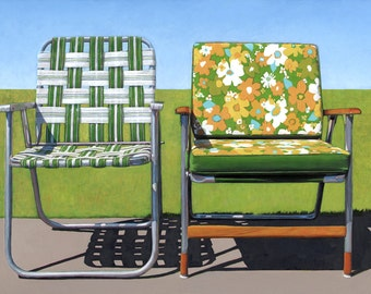 Garden Chairs - 11 x 14 archival print 81/100