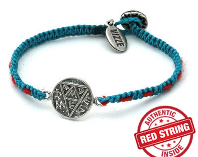 Pregnancy Amulet Handwoven with Kabbalah Red String Bracelet