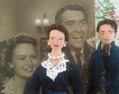 Holiday Art Dolls George and Mary Bailey Collectible Set