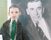 Booth Tarkington Author of The Magnificent Ambersons Doll Miniature