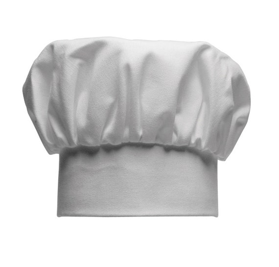 Embroidery Blank Children's White Chef Hat
