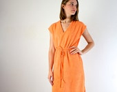 Swimsuit Cover Up - Terry Cloth Sundress