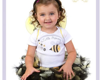 Little Baby Bumblebee Costume Bumble Bee Tutu Outfit Black And Yellow Tutu 9 12 18 Months 4 Pieces