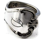Spoon Ring Size 5 Signature with D Monogram