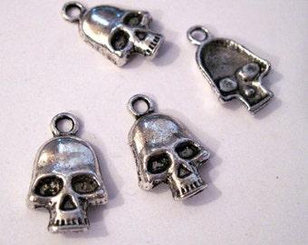 Mini Silver Skulls Lot of 30 - Wholesale Lot