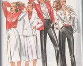 1970s vintage pattern UNCUT Butterick 6959 size 14 bust 36 Misses' jacket, skirt, pants & blouse