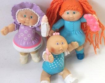 Vintage Cabbage Patch Kids Doll Figures Vintage Dolls