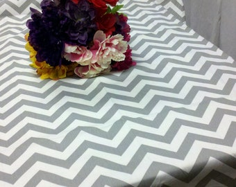 CHEVRON TABLECLOTH COLORS Rectangle or Square Chevron 54 60 72 90 84 96 108 120 , grey blue red lime yellow orange pink lilac purple khaki