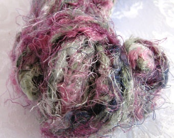 Ironstone Fireworks yarn, super bulky weight yarn, purple mauve grey shades, arm knitting yarn