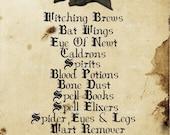 Instant Download - Vintage Look Label - Raven Supplies -  Digital Download