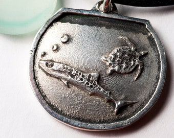 Shark Week Shark Necklace Sterling Silver Shark Week Toyquarium Kickstarter Project