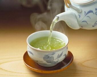 Tea Teabags 25  Sencha Japanese Green Hand Blended tea in teabags