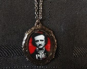 Edgar Allen Poe Pendant Necklace