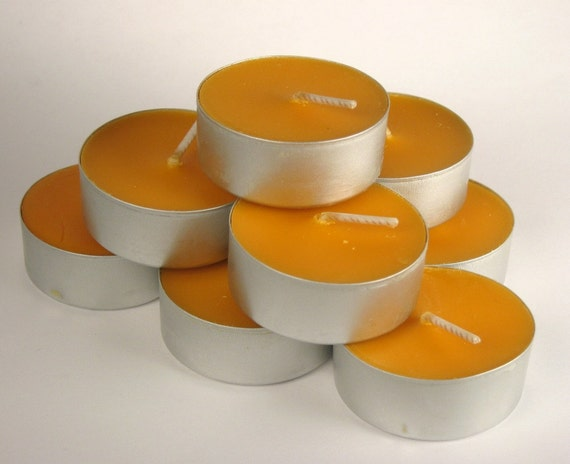 Chipotle Caramel - Tea Light Candles, SALE 9 pack, Soy wax candles, caramel, spicy, tealights