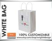 "CUSTOM ORDER Wedding Welcome Bags Designed for Britney 8"" x 10"""