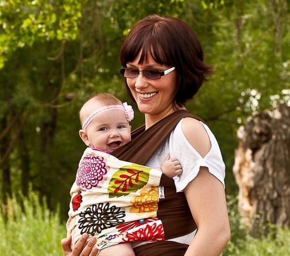 Lucky Baby Wrap - Zinnia Floral