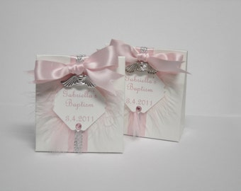 Custom Angel Theme Box Favors