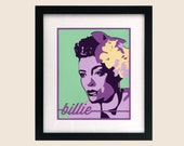 Bille Holiday No. 1 - Limited Edition Giclee Print