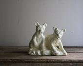 vintage ceramic bear planter