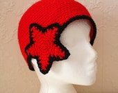 PATTERN - Side Star Beanie - Free International Shipping