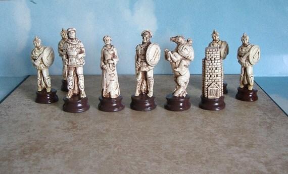 Greeks   chess set molds -9 MOLDS