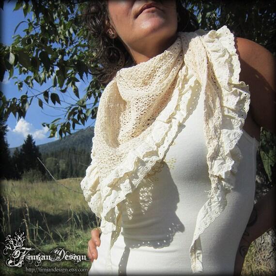 Crescendoll shawl - Small net