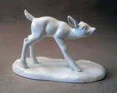 The Fawn. Vintage ceramic figurine.