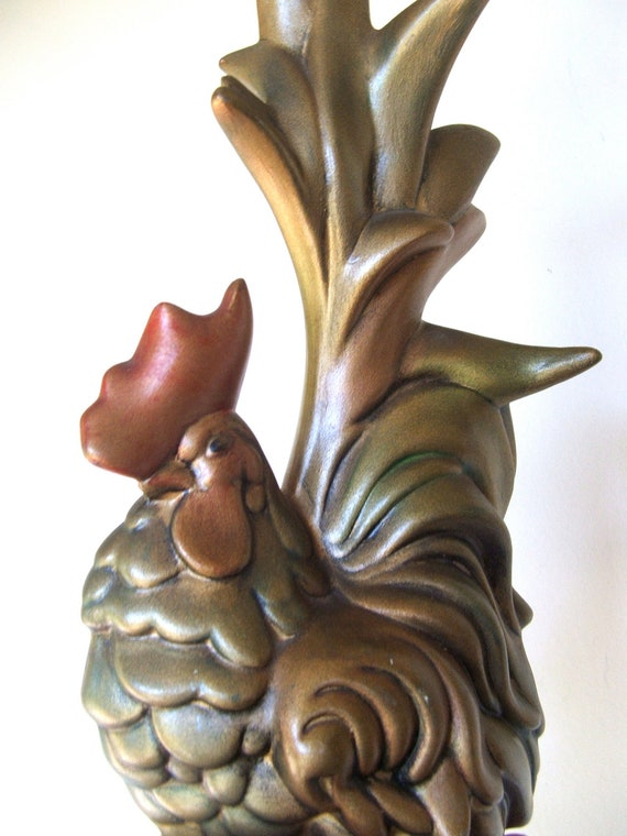 Early Seventies Ceramic Rooster
