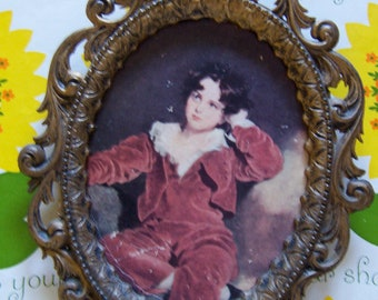 handsome boy from italy wall art