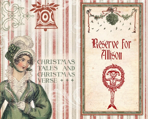 Reserve for Allison - Special Christmas Journal