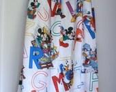 Vintage Disney twin flat sheet aphabet