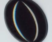 Large black cabochon (40 mm x 30 mm) - DESTASH  by enchantedbeas on Etsy