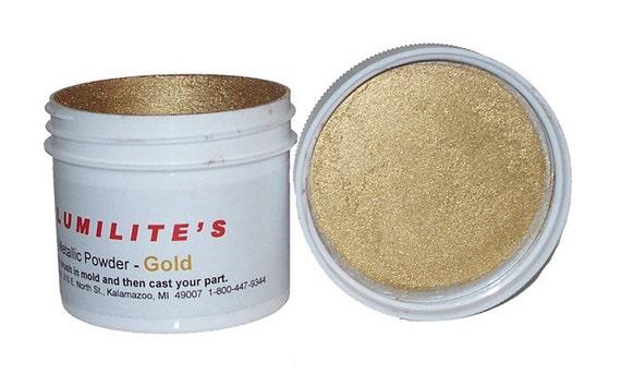 Alumilite Gold Metallic Powder - resin jewelry making