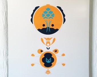 Camp Bear Screen Print