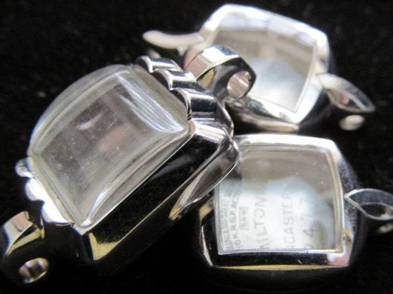 NOS Steampunk 10 K Gold Bezel Watch Cases Altered Art Industrial  CC 52