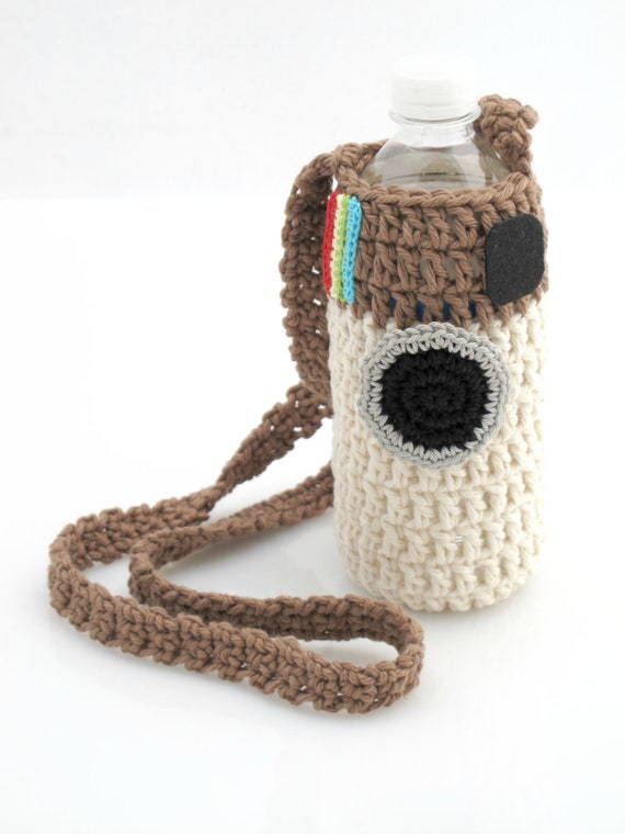 how to crochet a drink bottle holder