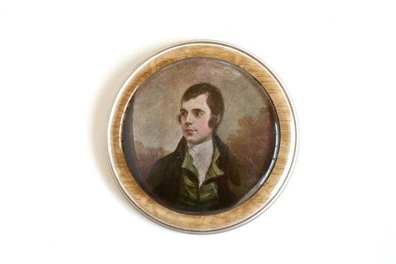 A Hero of Scotland - Vintage Robert Burns Portrait