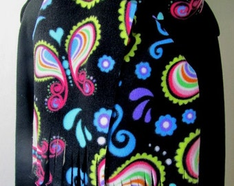 Butterfly Whimsy Fleece Scarf