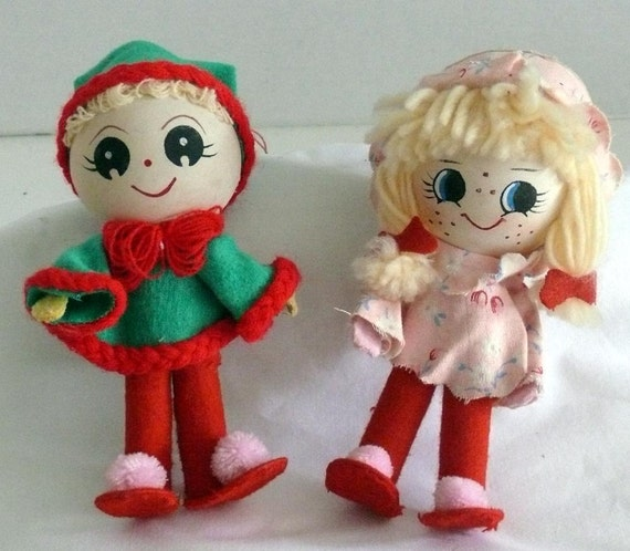 Pixie Dolls - Boy and Girl