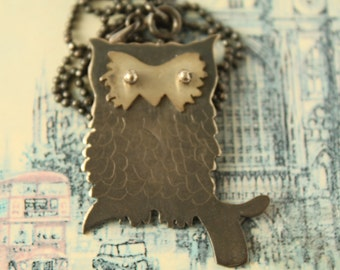 Night Owl Metalwork Sterling Silver Necklace