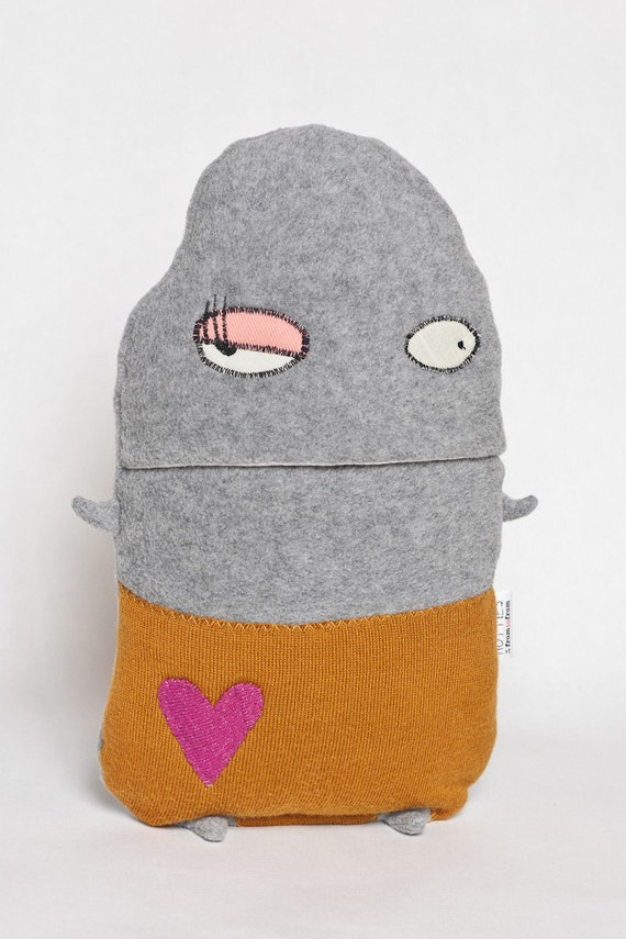 Pinky the Hottie--Hot Water Bottle Cover Cozy with High Quality German Ecolux Hot Water Bottle