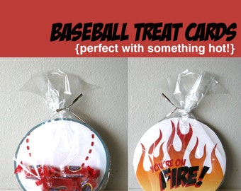 Printable Baseball Cards - You're on Fire