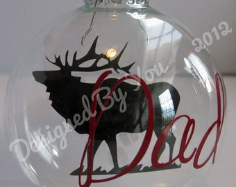 Personalized Outdoors Silhouette Ornament