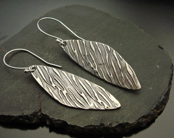 Earrings,artisan, silver, lightweight, Sterling Silver Designs by Suzyn Earrings