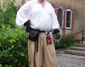 Cotton Pirate Pants SCA Renaissance Medieval Pagan LARP Belly Dancing Pennsic Harem Pants