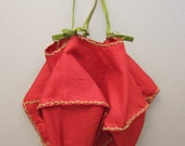 Anitque Silk Ditty Lingerie Bag