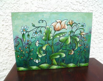 how to make a cradled wood panel for painting