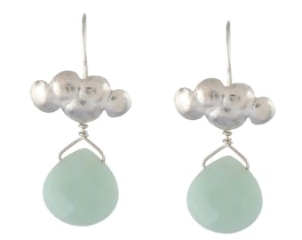 Aventurine Cloud Earrings