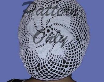 Pinwheel Snood Hair Net Pattern
